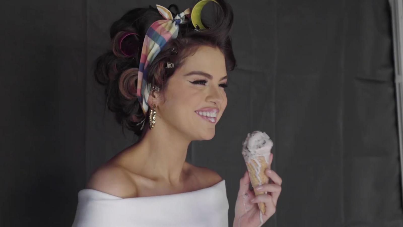 پشت صحنه موزیک ویدیو Ice Cream از طرف سلینا
