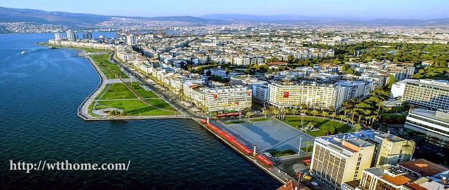 ازمیر از شهر های مهم ترکیه