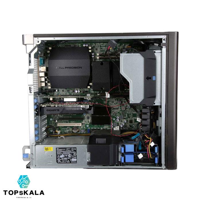 خرید کامپیوتر استوک دل مدل Dell T5600 WorkStation با مشخصات پردازنده Intel Xeon E5 2690 و گرافیک nVidia Quadro K2000 دارای مهلت تست و گارانتی رایگان - محصول دل