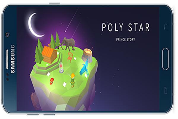 دانلود بازی اندروید Poly star: the story of a prince