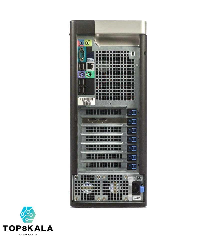 خرید کامپیوتر استوک دل مدل Dell T5610 WorkStation با مشخصات پردازنده Intel Xeon E5 2690 و گرافیک nVidia Quadro K2000 دارای مهلت تست و گارانتی رایگان - محصول دل