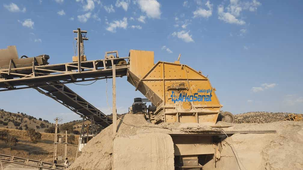 فروش خط کامل سنگ شکن در حد جهت تولید ماسه شسته