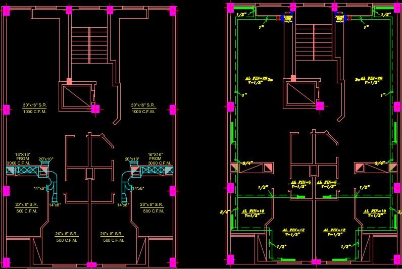 نقشه تاسیسات مکانیکی