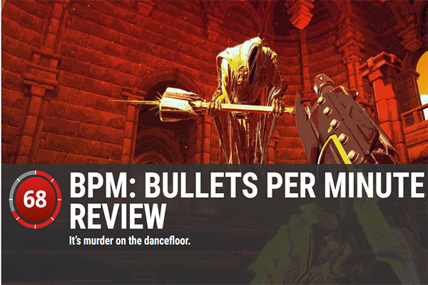 BPM: BULLETS PER MINUTE REVIEW