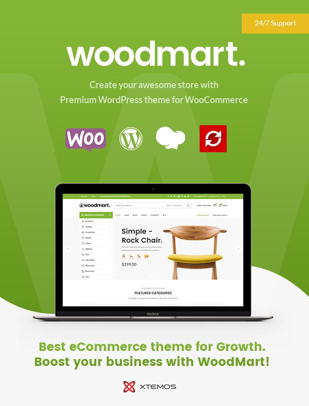 قالب WoodMart