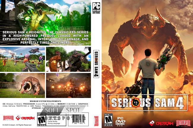 Serious Sam 4 Cover