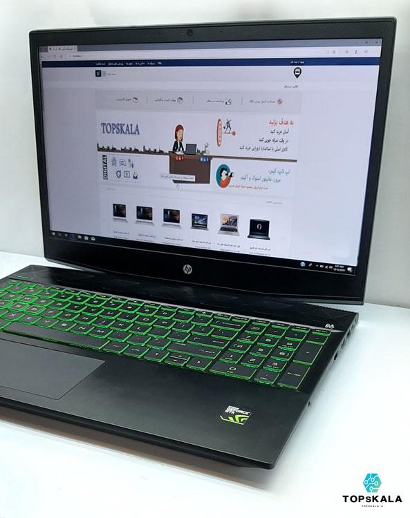 خرید لپ تاپ استوک اچ پی مدل HP Pavilion Gaming 15 با مشخصات AMD Ryzen 7 3750H - nVidia GTX 1650 دارای مهلت تست و گارانتی رایگان/ محصول اچ پی سال 2018